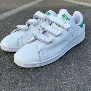 Gently used Velcro Stan Smith